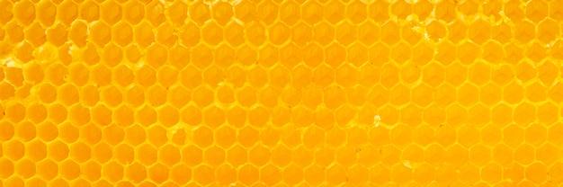 Texture en nid d'abeille jaune