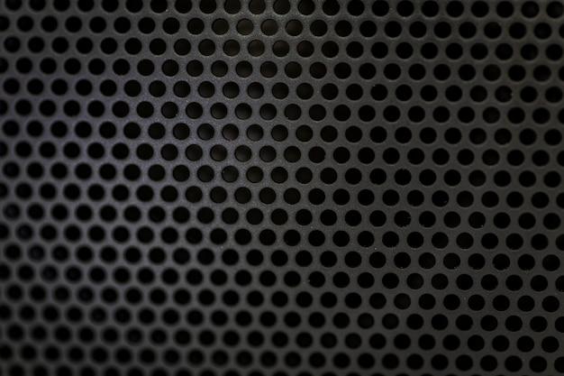 Texture noire haut-parleur bluetooth