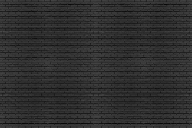 Texture noire avec mur de briques pour le site de la bannière ou l'arrière-plan.