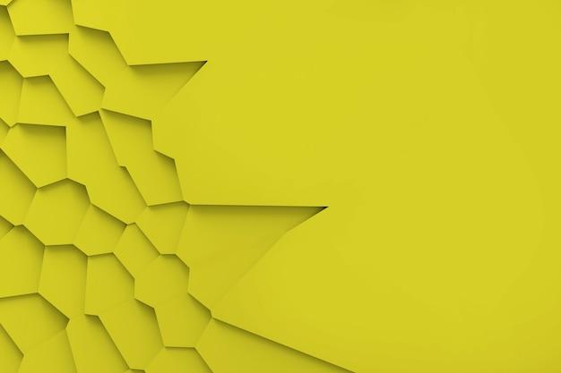 Texture numérique légère de blocs de différentes tailles de différentes formes s'élevant les uns au-dessus des autres, projetant des ombres illustration 3d