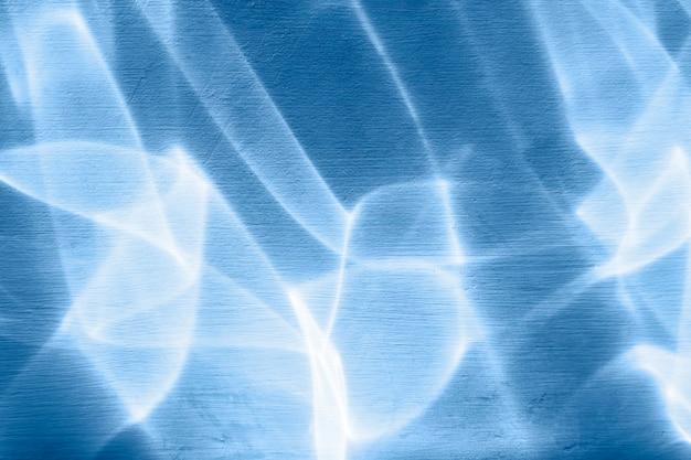 Texture d'ombre et de lumière bleue