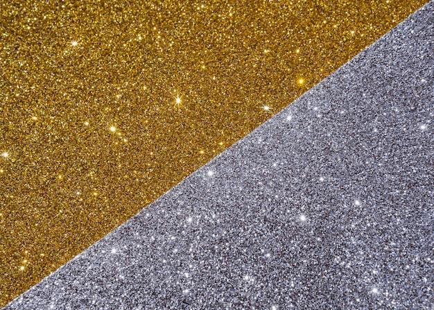 Texture or abstraite dans les tons jaunes et gris