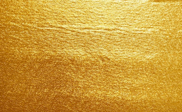 Texture or jaune feuille brillante