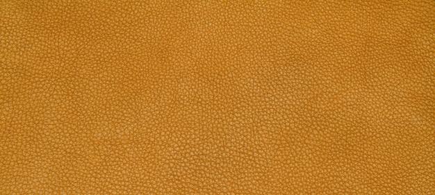 Texture orange en cuir