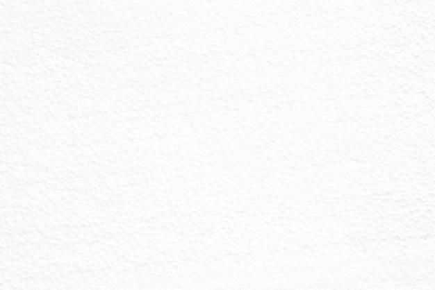 Texture de panneau de mousse blanche pour le fond avec un espace vide.