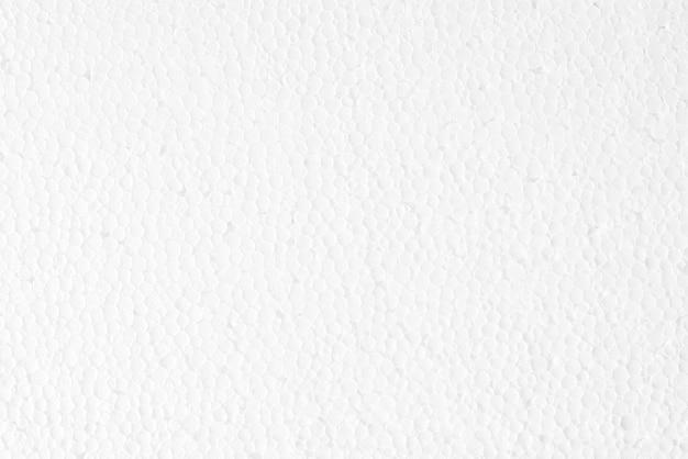 Texture de panneau de mousse blanche