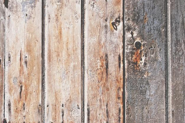 Texture de panneaux en bois endommagés