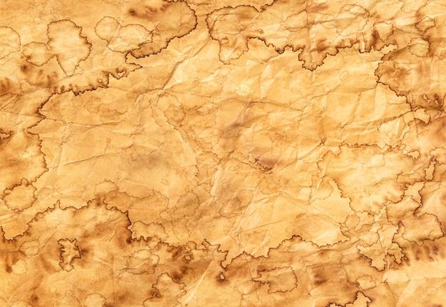 Texture de papier ancien, fond de papier vintage, papier ancien avec des bords rugueux