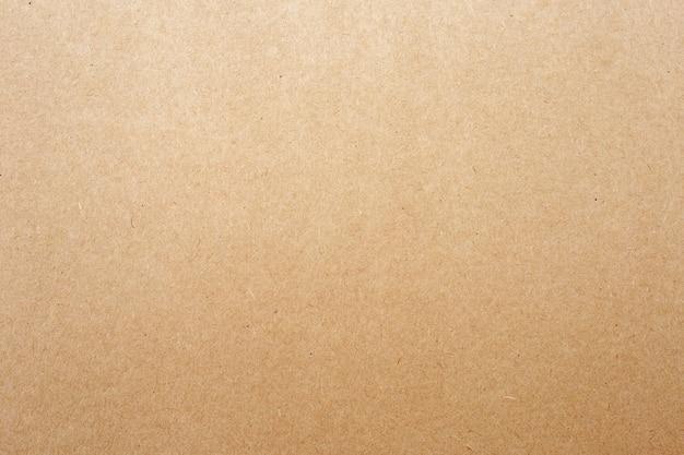 Texture de papier brun ou de carton pour la surface