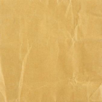 Texture de papier brun froissé