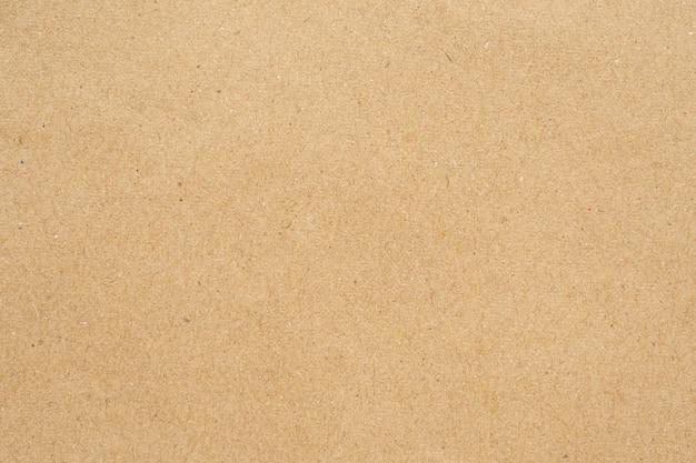 Texture de papier carton recyclé vieux brun
