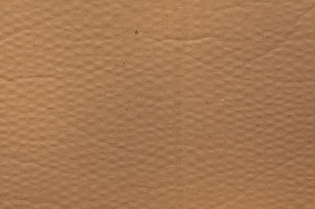 Texture de papier cartonné brun