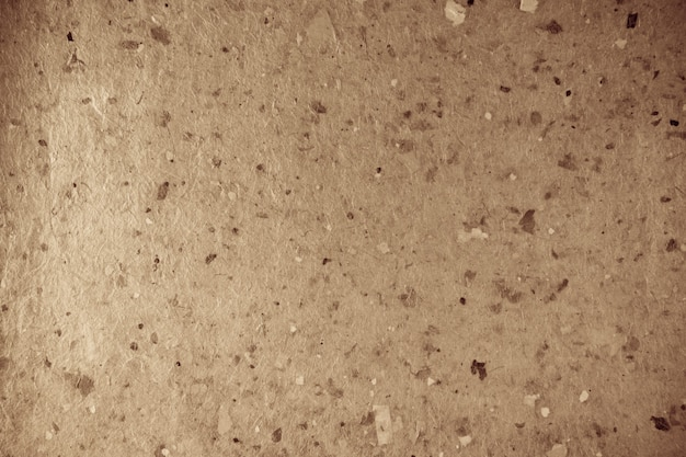 Texture de papier fait main recyclé.