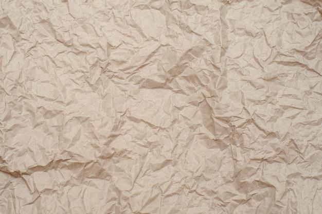 Texture de papier froissé. contexte