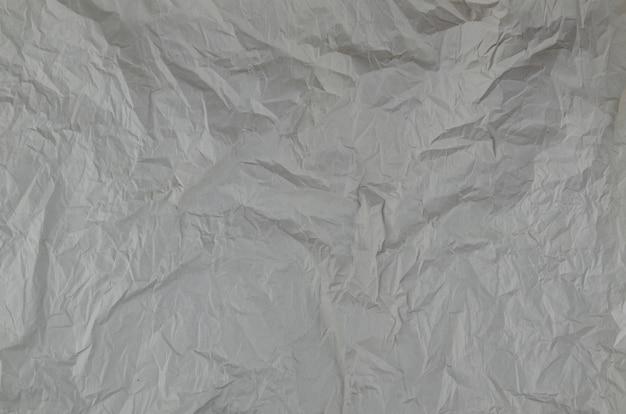 Texture de papier froissé gros plan