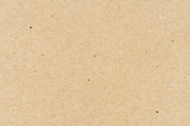 Texture de papier kraft brun ou fond
