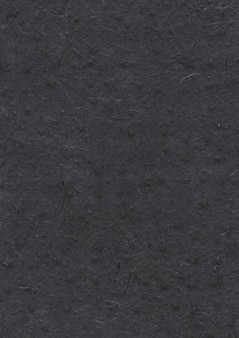 Texture de papier noir recyclé naturel népalais