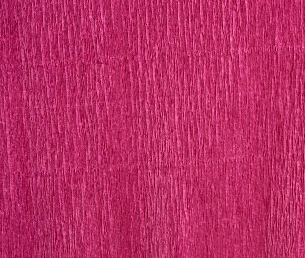 Texture de papier ondulé rouge, plein cadre
