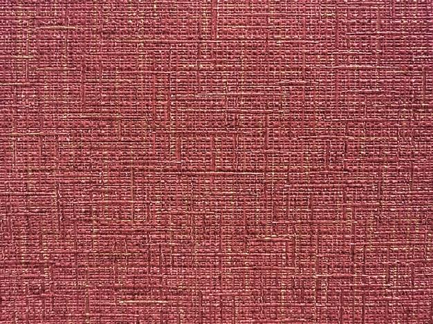 Texture de papier peint rouge