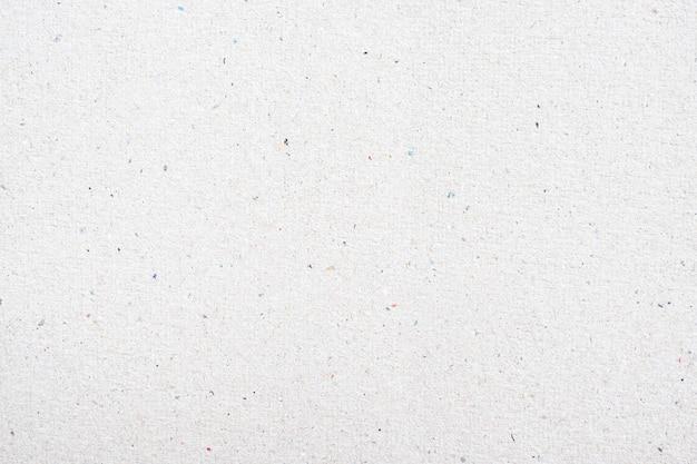 Texture de papier recyclé blanc