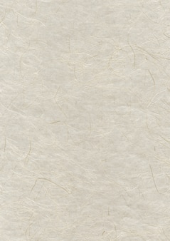 Texture de papier recyclé japonais naturel