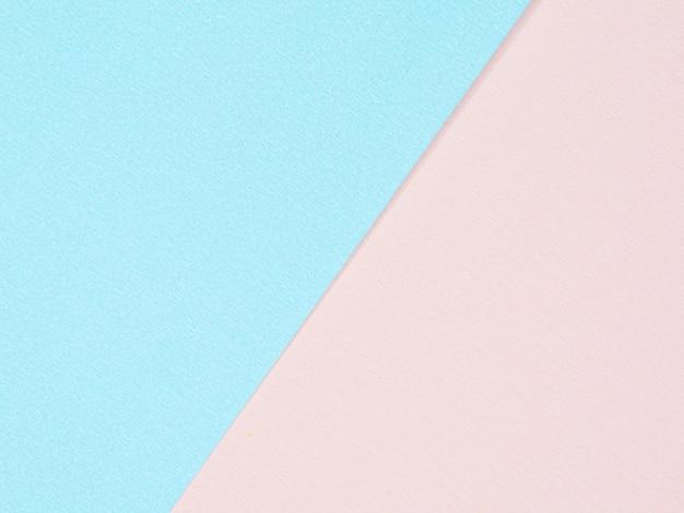 Texture de papier rose et bleu