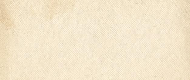Texture de papier de toile vieux grunge
