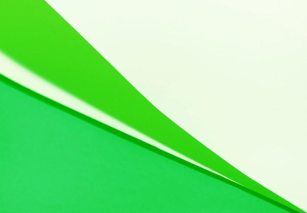 Texture de papier vert à positions multiples
