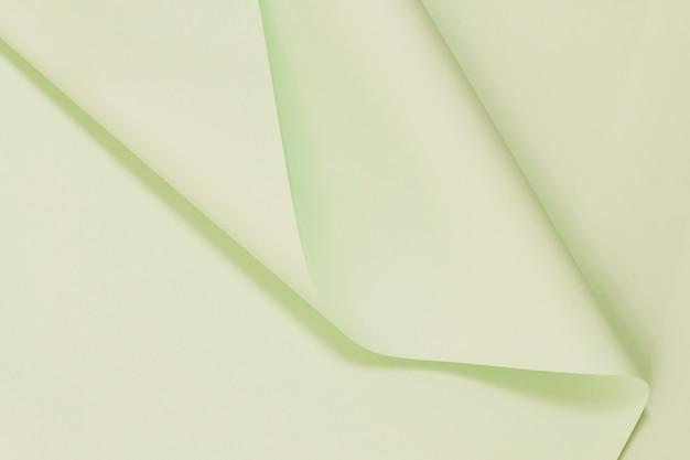 Texture de papiers pliés haute vue