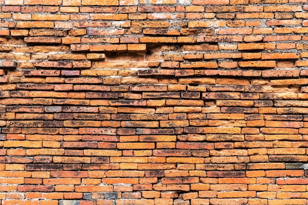 Texture de la paroi de brique pour l'arrière plan