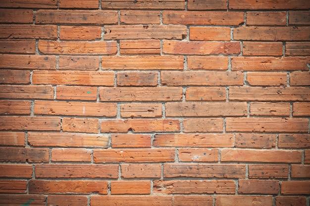 Texture de la paroi de brique