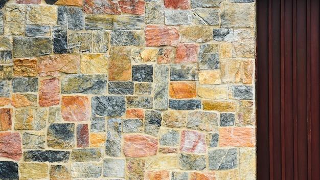 Texture de la paroi rocheuse