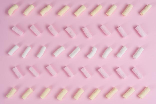 Texture pastel abstraite avec guimauve. espace copie