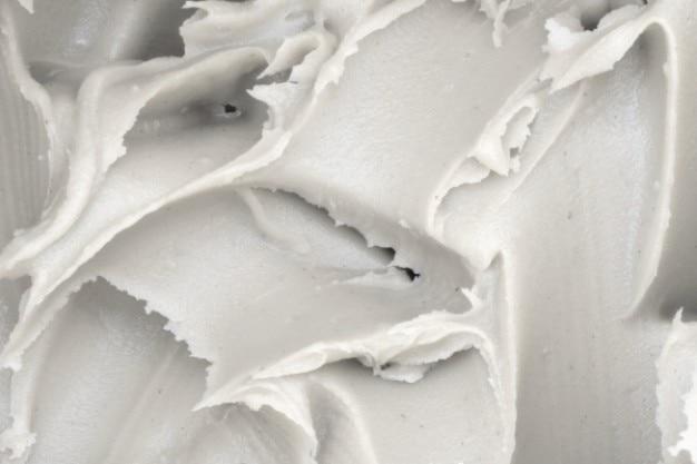 Texture de pâte blanche