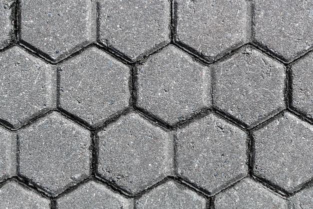 Texture de pavé en pierre. fond de dalles