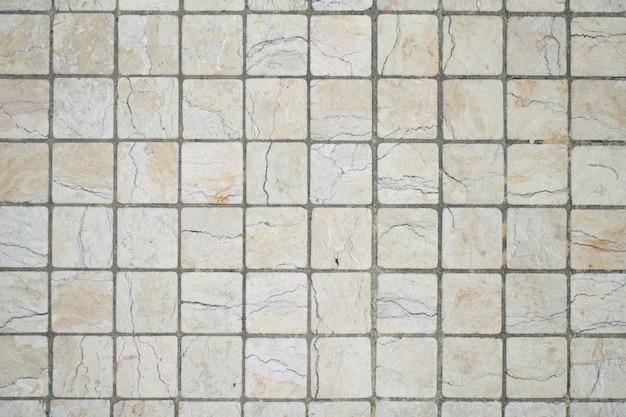 Texture des pavés blancs