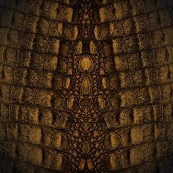 Texture de peau de crocodile
