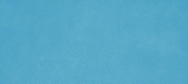 Texture de peau en cuir véritable couleur bleu cyan.