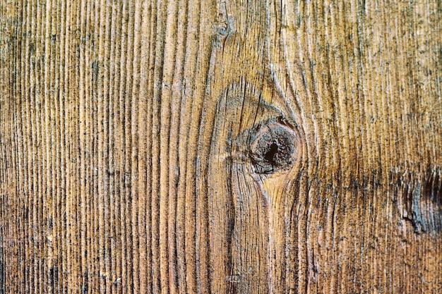 Texture peinte et planches de bois imbibées d'huile