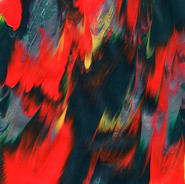 Texture de la peinture acrylique. fond peint à la main d'empâtement unique.