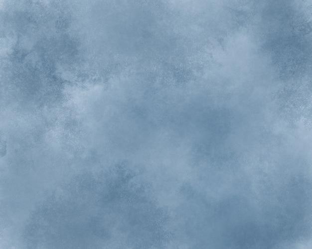 La texture de la peinture à l'aquarelle dans la couleur de l'année 2020 est bleu classique. la couleur tendance de l'année.