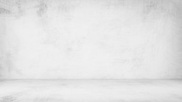 Texture de peinture grise avec mur et sol pour décorer l'intérieur