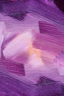Texture de peinture à l'huile abstraite sur toile, fond