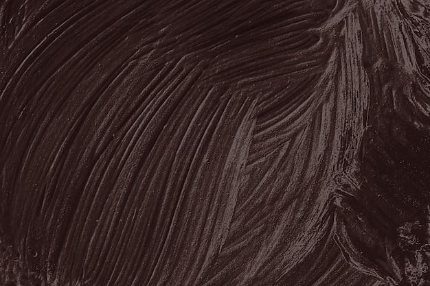 Texture de peinture à l'huile brune