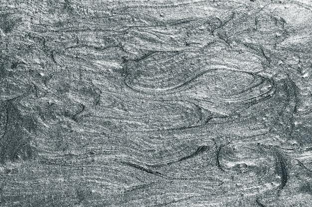 Texture de peinture à l'huile grise