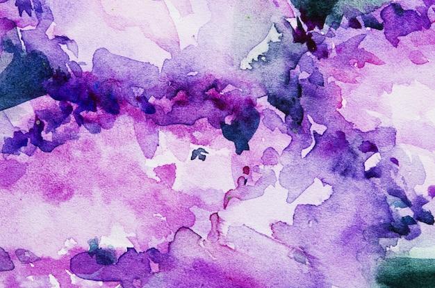 Texture de peinture à la main aquarelle abstraite.