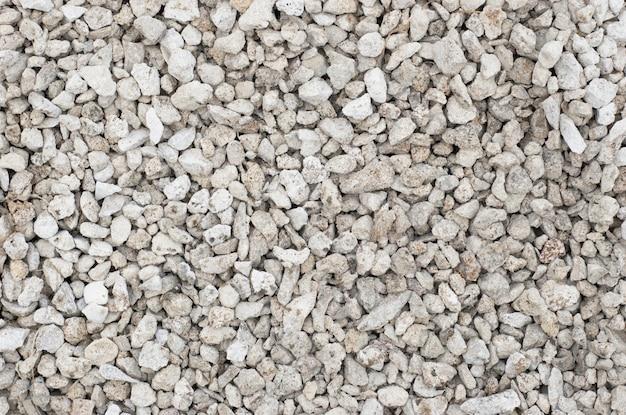 Texture de petites pierres concassées