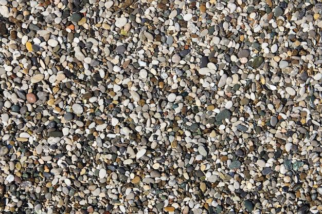 Texture de petits cailloux de mer pour toile de fond