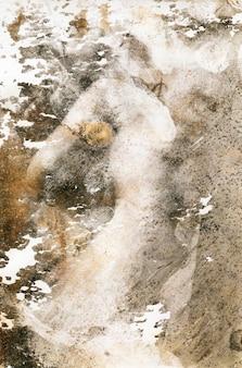 Texture de photo ancienne avec des taches et des rayures. concept de photo sale vintage et âgé. modèle de texture grunge.
