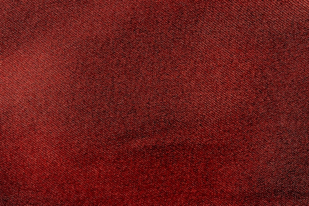 Texture, photo panoramique en tissu de soie rouge. satin d'humeur duc de soie - beau et majestueux. satiné texturé